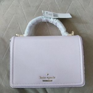 Kate Spade Crossbody Pink Bag Purse Gold